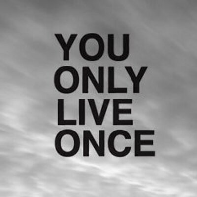 life, life lesson, live, love, map, you only - image ...  |You Only Live Once Drawing