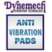 Dynemech anti vibration pads   header bigger