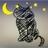 黒神猫のアイコン