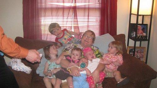 Oma and grandchildren
