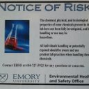 Notice of risk sq reasonably small