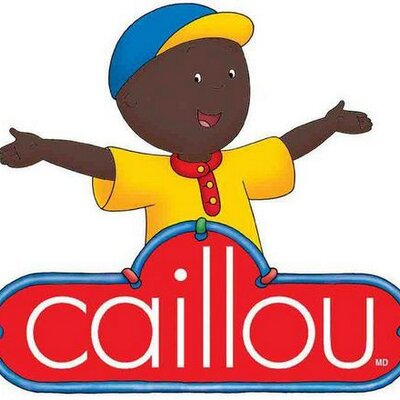 Black Version Of Caillou