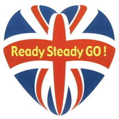 Ready steady go readysteadygo twitter for Ready to go images