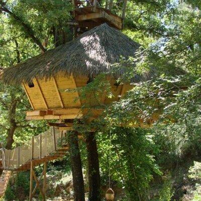 Les cabanes du varon cabanesduvaron twitter - Les cabanes du trappeur ...