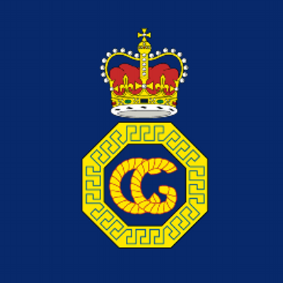 H.M. Coastguard badge