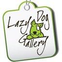 Lazy dog twitter logo reasonably small
