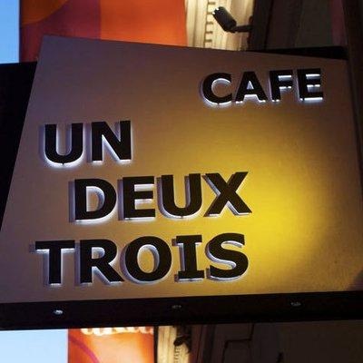 Cafe Un Deux Trois New York