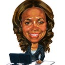 Adc caricature reasonably small