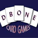 Dbone logo white no border reasonably small