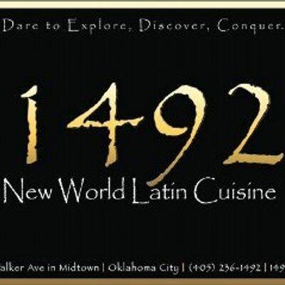 1492 restaurant 1492okc twitter for 1492 new world latin cuisine oklahoma city