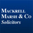 Mackrell Marsh & Co.