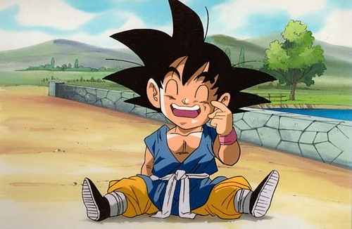 Son Goku Gt On Twitter I Ready To Eat D