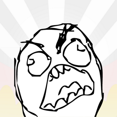 angry rage face - photo #12