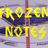 Frozen Notes (@FrozenNotes) Twitter profile photo