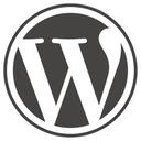 Wordpress logo notext rgb reasonably small