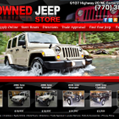 The PreOwned Jeep St
