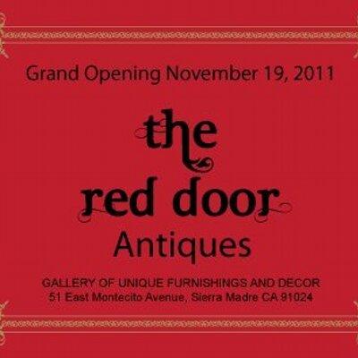 - Red Door Antiques (@RedDoorSM) Twitter