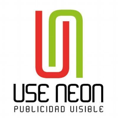 Letreros Use Neón useneon #1: useneon avatar blanco 400x400