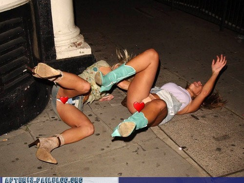 Passed Out Girls Pics