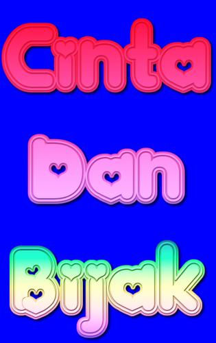 @CintaDanBijak