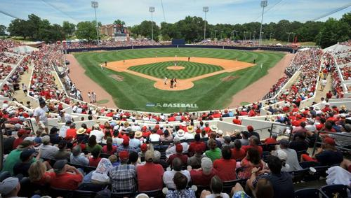 The nation's top college baseball atmosphere with dedicated fans and the best beer showers around! Rebel baseball is upon us once again! THROW IT IN THE DIRT!!!