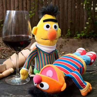 Drunk Bert And Ernie At Drunkberternie Twitter