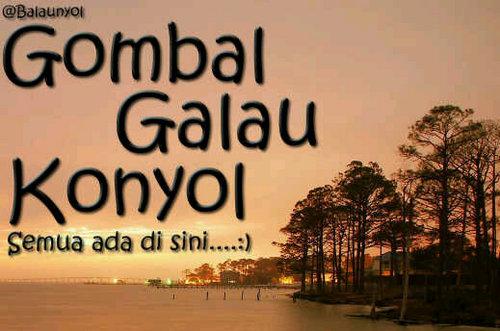 gomBAL.gaLAU.koNYOL @Balaunyol  Twitter