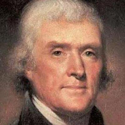 Thomas Jefferson At Thomasjefferson Twitter