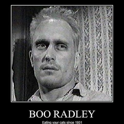 boo radley to kill a mockingbird