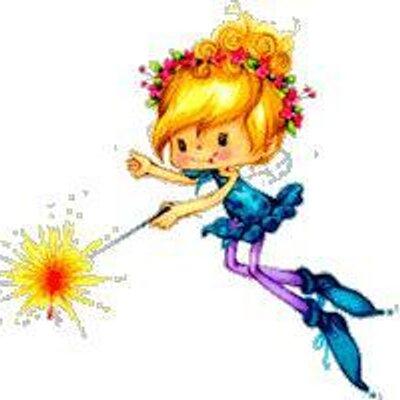Анимация картинка фея с волшебной палочкой, любовь