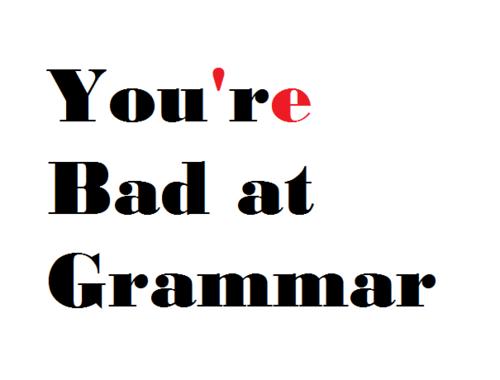 Bad Grammar (@BadSpellingToo) | Twitter