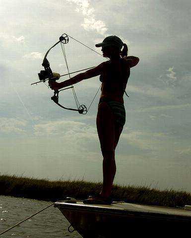 Renea elliott girl nxtdor twitter for Bow fishing bow