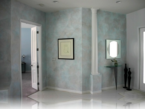 Decorative finishing ystylesurface twitter for Unique interior wall finishes