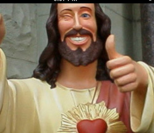 Buddy Christ Buddychrist007 Twitter Jesus thumbs up buddy jesus gif. buddy christ buddychrist007 twitter