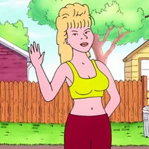 King of the hill luanne hot