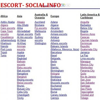 social escot how to be an escort