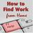 How2FindWorkfromHome (@HowtofindWFH)