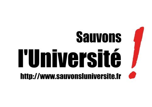 Sauvons l'Université