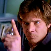 Image result for han solo angry