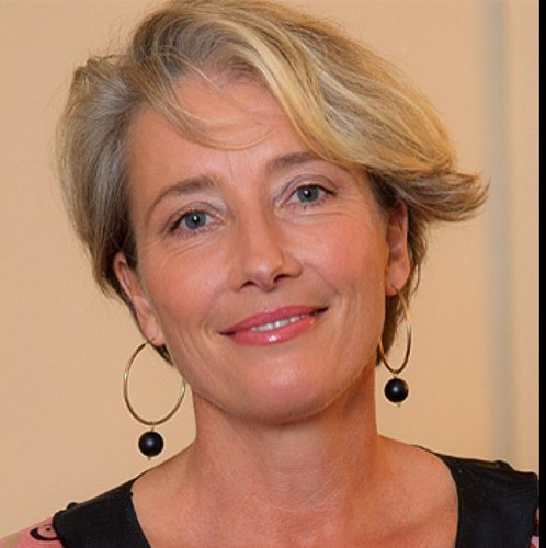 Emma Thompson - 2017 Light Blond hair & chic hair style. Current length:  short hair (chin length)