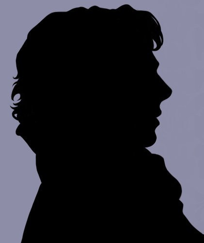 Vampire Profile Silhouette Sherlock Create (@Sher...