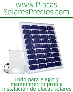 Placas solares placassolaresya twitter for Placas solares precios