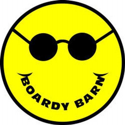 Boardy barn stickers