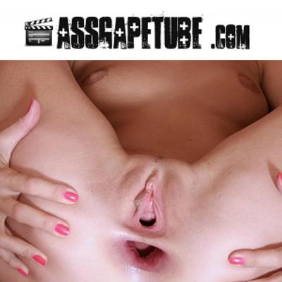 Mature anal gape tube