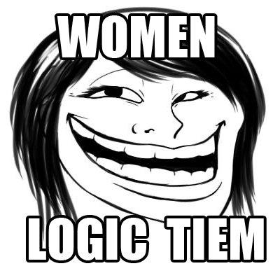 women logic tiem womenlogictiem twitter Doge Meme women logic tiem