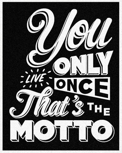 Did The motto by drake create yolo?