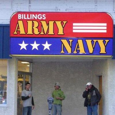 Billings army navy surplus store coupons