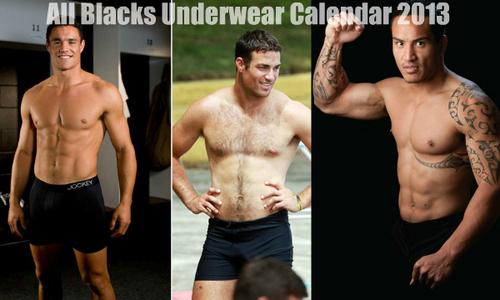 Gods of rugby calendar australia