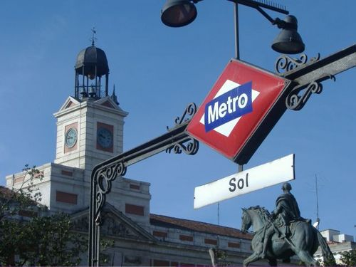Reloj de Madrid