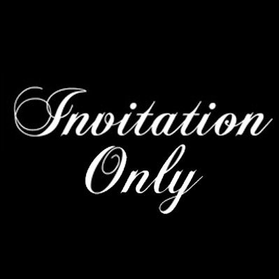 Invitation only invitationonly1 twitter invitation only stopboris Image collections